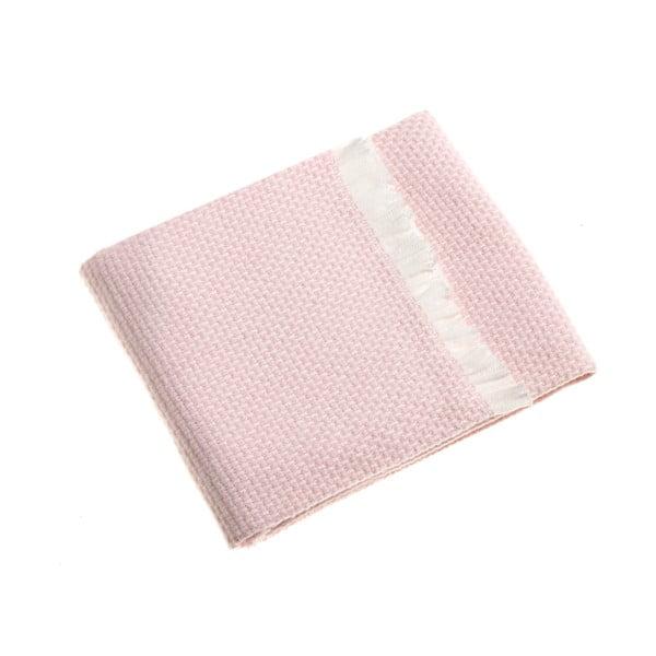 Růžová dětská deka Euromant Zen, 75x110cm