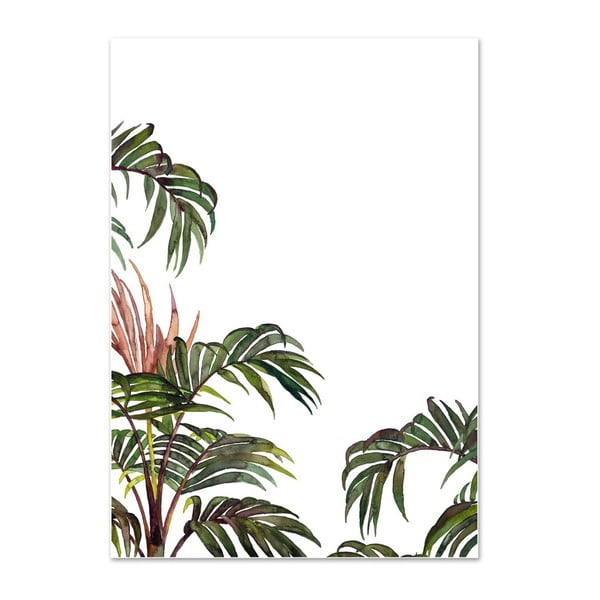 Plakát Leo La Douce Jungle Palm, 21 x 29,7 cm