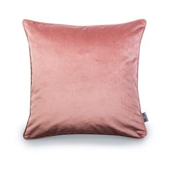 Față de pernă roz WeLoveBeds Heard Wood, 50 x 50 cm de la WeLoveBeds