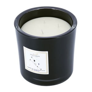 Lumânare parfumată în pahar negru cu aromă de portocal Stella Cadente Taur