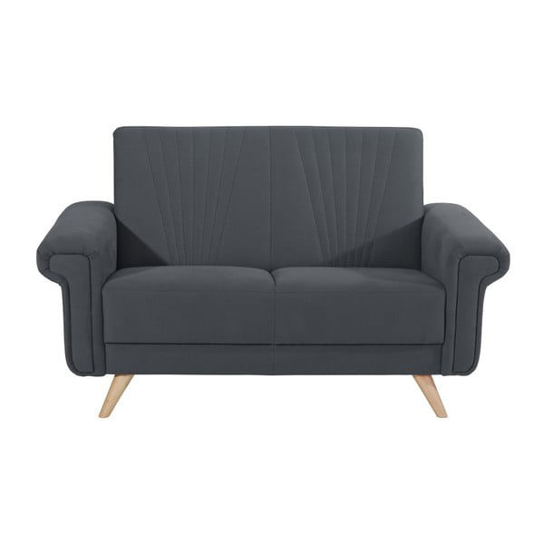 Canapea cu 2 locuri Max Winzer Jannes, gri