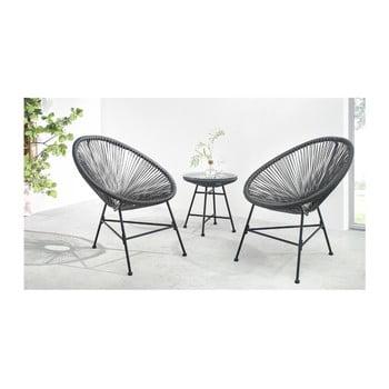 Set de mobilier de grădină din 3 piese Bobochic Paris Pinto