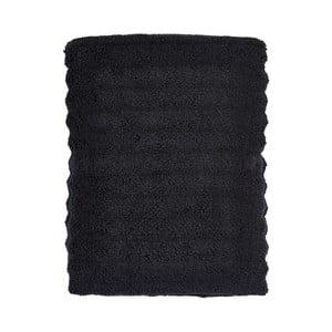Černá osuška Zone One, 70x140cm