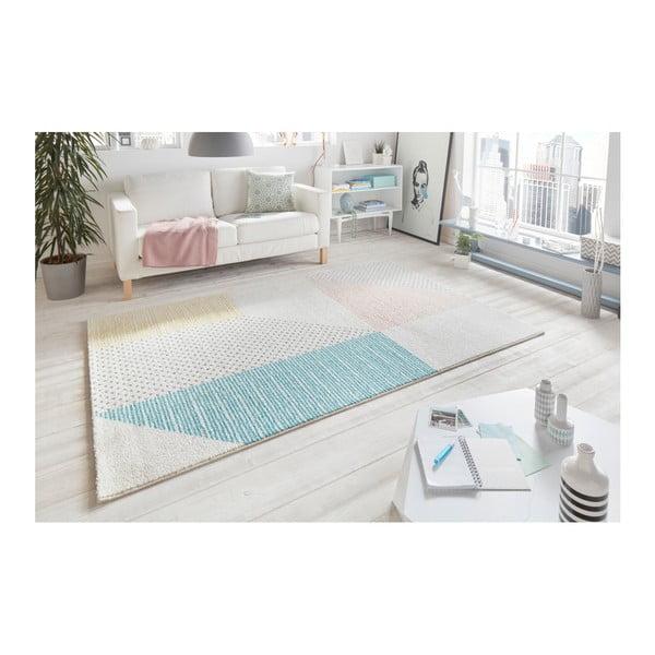 Tyrkysovo-růžový koberec Mint Rugs Madison, 120 x 170 cm