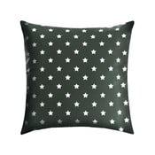 Polštář Homedebleu Green Dots Med, 45 x 45 cm