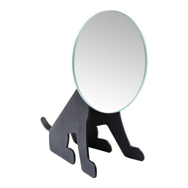 Oglindă pentru masă Kare Design, negru