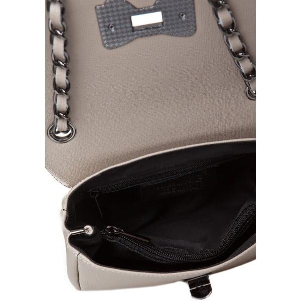 Kožená kabelka Bowlis, taupe