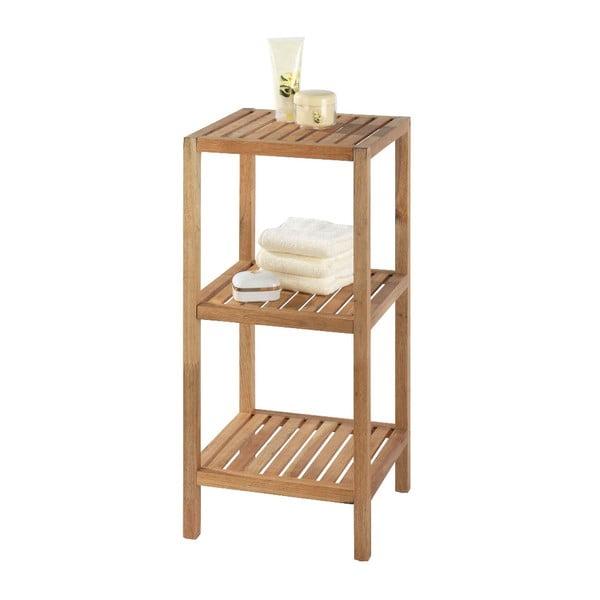 Drewniana szafka łazienkowa z 3 półkami Wenko Norway
