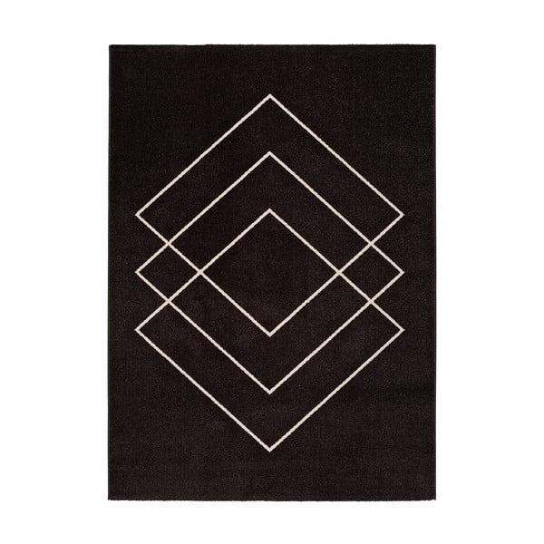 Covor Universal Breda, 190 x 133 cm, negru