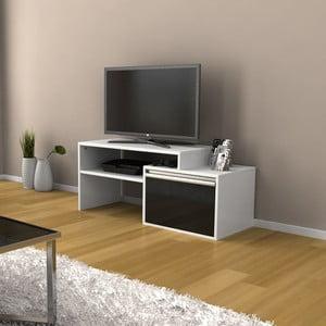Televizní stolek Torino Black