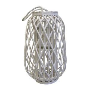 Bílá lucerna Stardeco, 50 cm