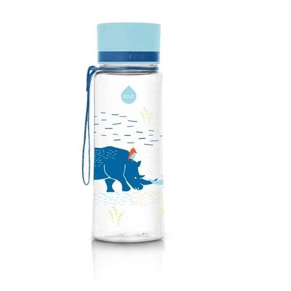 Rhino kék ivópalack, 600 ml - Equa
