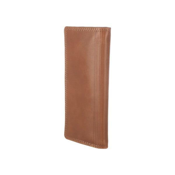 Kožená peněženka Hamilton Chestnut