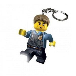Svítící klíčenka LEGO Policista