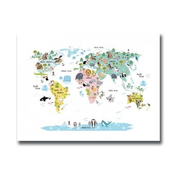 Tablou Onno Map, 30 x 40 cm imagine