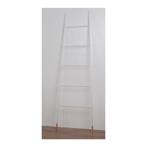 Bílý odkládací žebřík Zuiver Rack