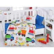 Lenjerie de pat cu cearșaf Santye, 100x150cm