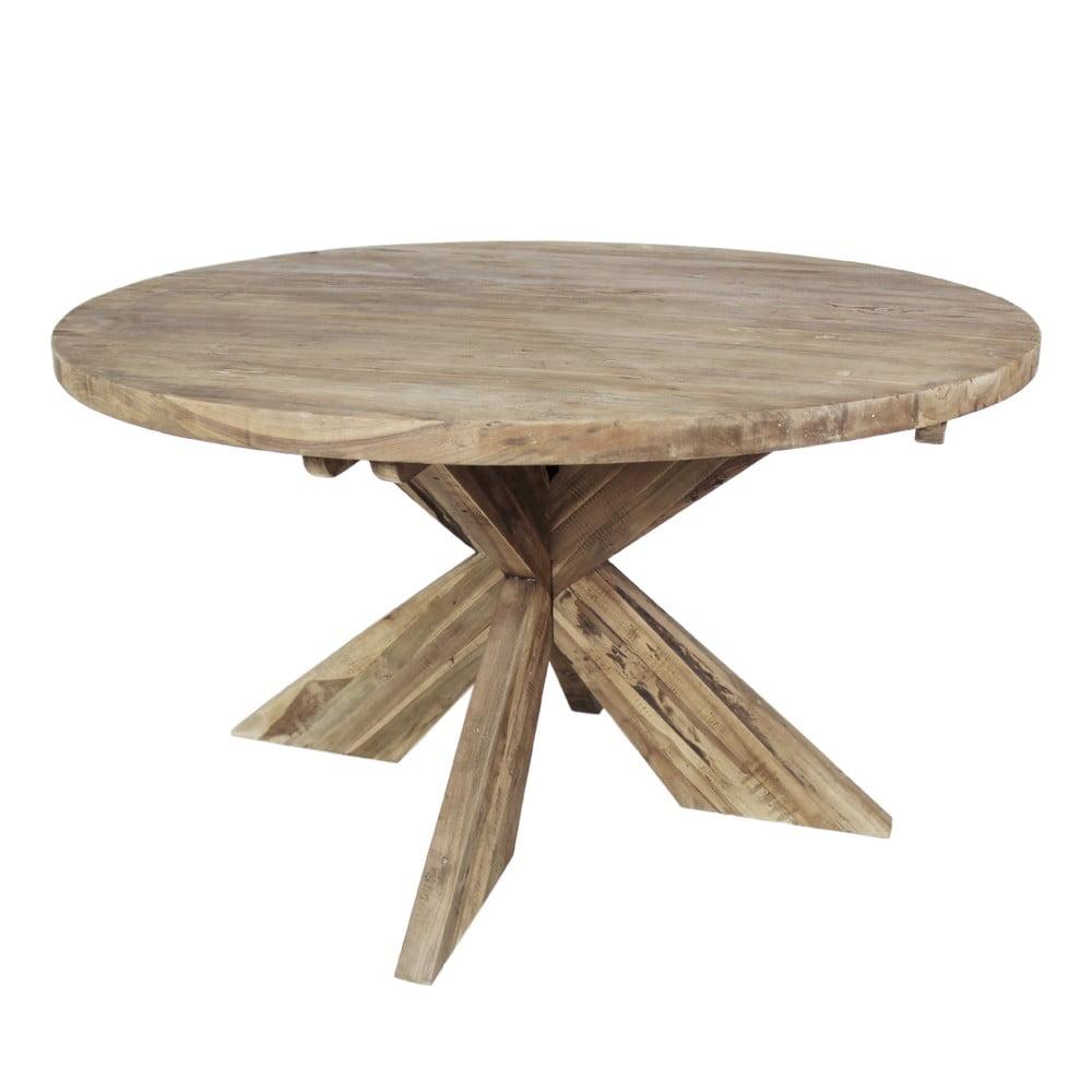Jídelní stůl z teakového dřeva HSM Collection, ⌀ 150 cm
