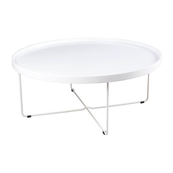 Bílý konferenční stolek sømcasa Bruno