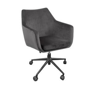 Šedá kancelářská židle Actona Nora