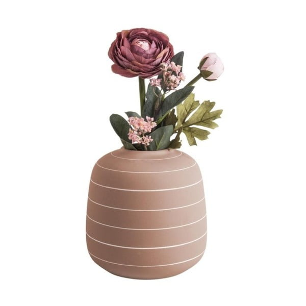 Keramická váza v terakotové barvě PT LIVING Terra, ⌀16,5cm
