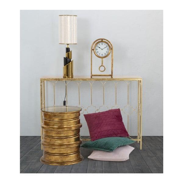 Masă consolă Mauro Ferretti Balcony, 112 x 31 cm, auriu