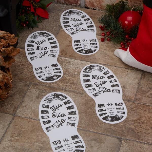 Zestaw 12 papierowych dekoracji Neviti Dear Santa, 10 x 24 cm