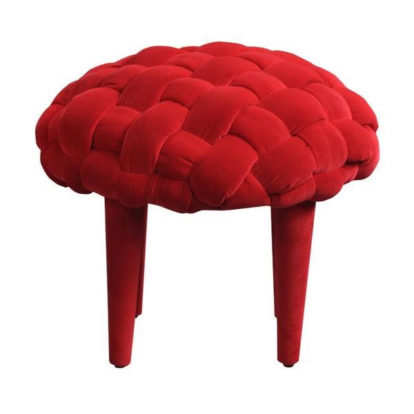 Stolička Happy Barok Berry, červená