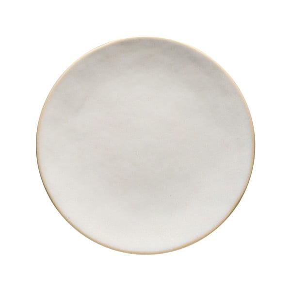 Farfurie/platou din gresie ceramică Costa Nova Roda, ⌀ 25 cm, alb