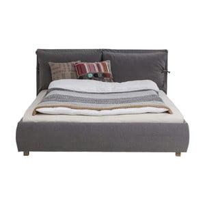 Postel Kare Design Bett Schlamm, 180 x 200 cm