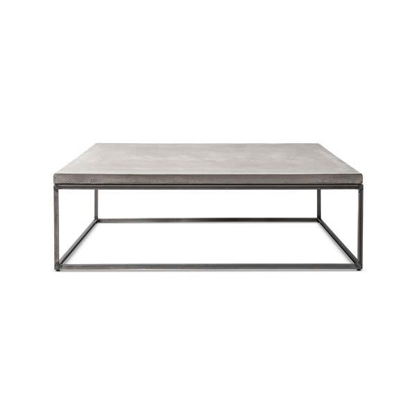 Perspective beton dohányzóasztal, 100 x 100 cm - Lyon Béton