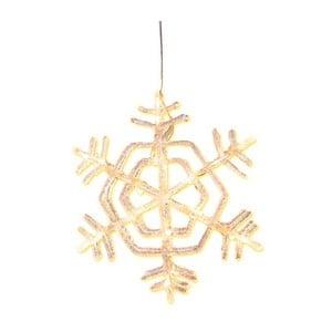 Závěsná svítící hvězda Best Season Crystal Snowflake, ⌀ 30 cm
