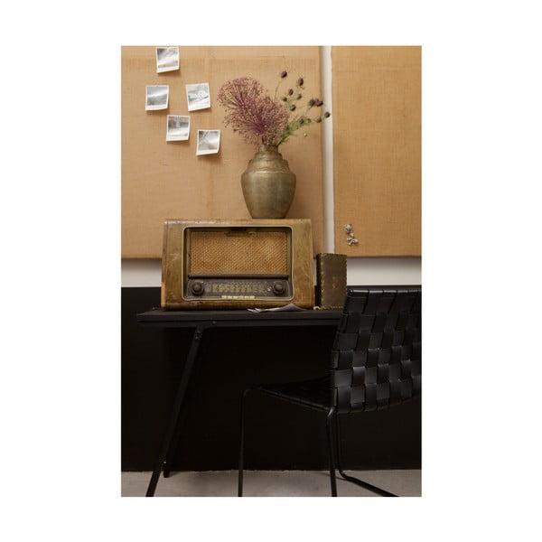 Sada 2 černých jídelních židlí De Eekhoorn Icon