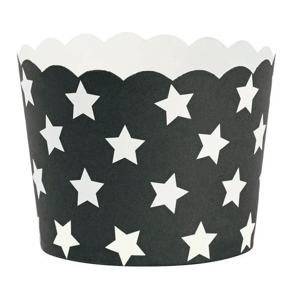 Set 24 coșulețe copt Miss Étoile Stars