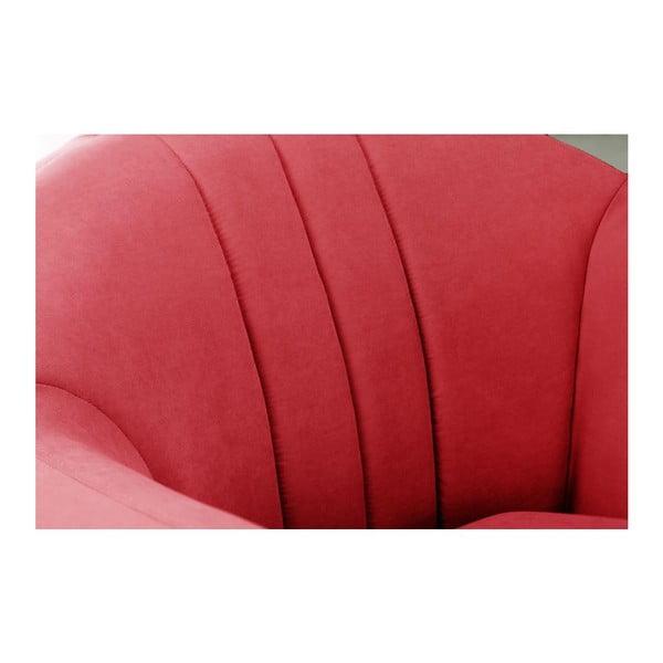 Křeslo Comete Stripes Red