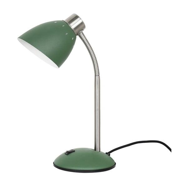 Zelená stolní lampa Leitmotiv Dorm