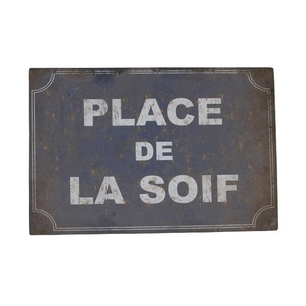 Plechová cedule Antic Line De La Soif