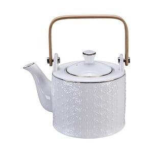 Bílá konvička na čaj Tokyo Design Studio Nippon Wave, 800ml