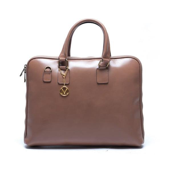 Kožená kabelka Mangotti 375, kámen