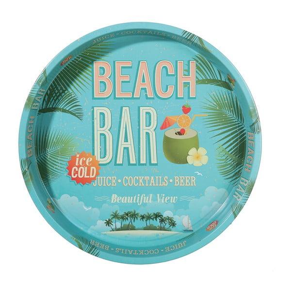 Kulatý podnos Postershop Beach Bar