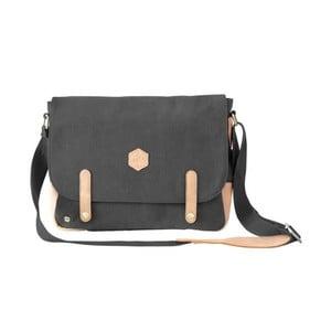 Černá taška s ramenním popruhem Mr. Wonderful Make It Work