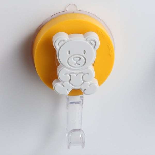 Cârlig cu montare fără găurire ZOSO Bear, galben