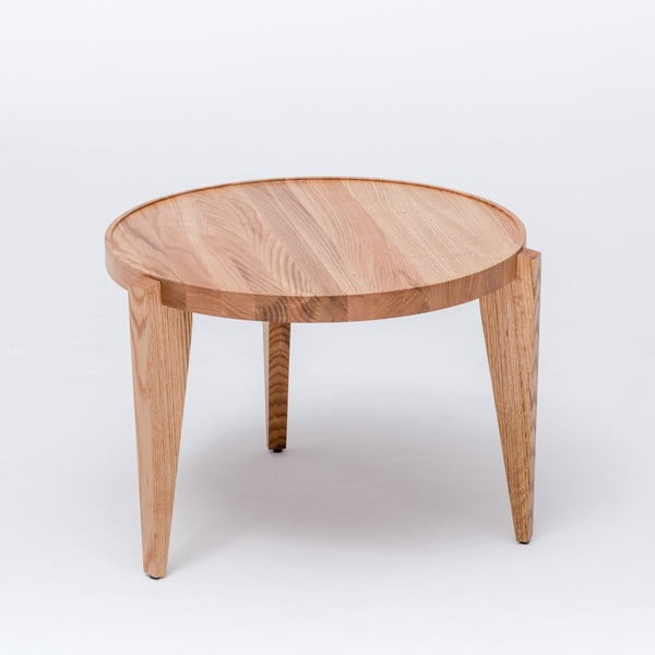 Dubový kávový stolek Bontri, 60x50 cm