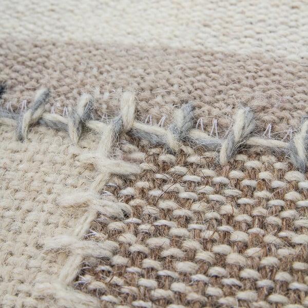 Vlněný koberec Omnia no. 3, 120x170 cm