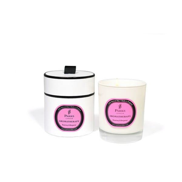 Sviečka s vôňou rozmarínu a bergamotu Parks Candles London, 45hodín horenia