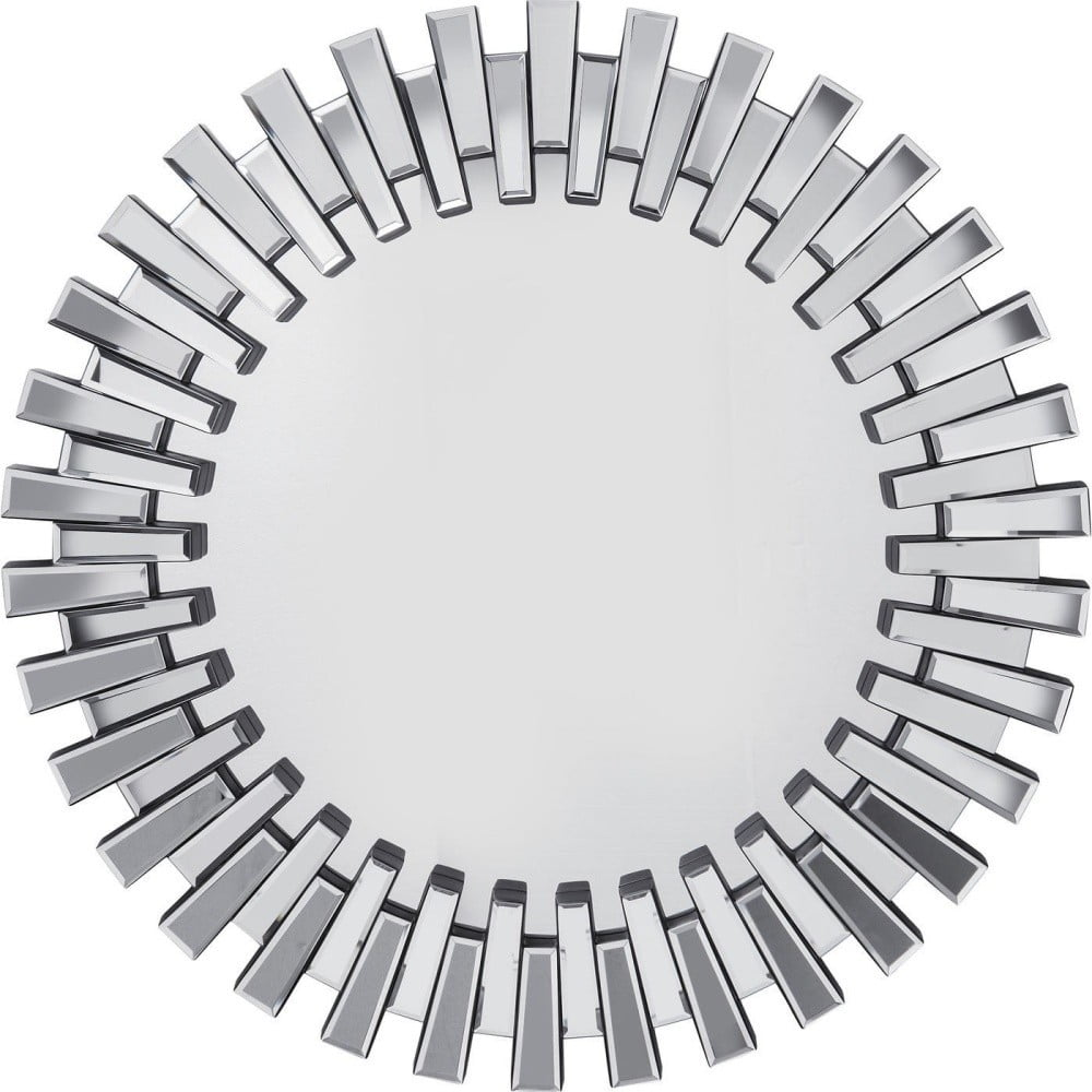 Nástěnné zrcadlo Kare Design Sprocket, ø 92cm Kare Design