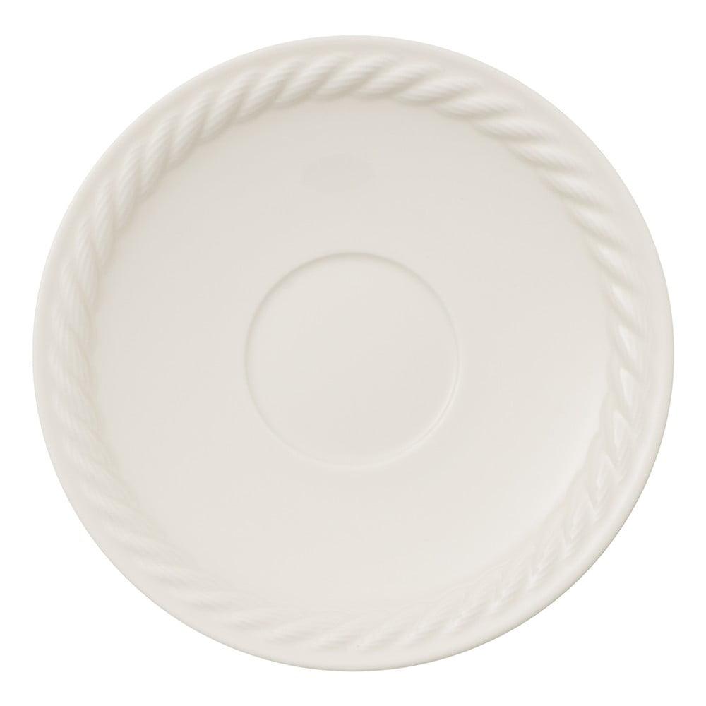 Bílý porcelánový talíř na pizzu Villeroy & Boch Montauk