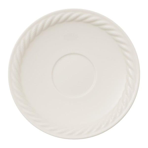 Biely porcelánový tanier na pizzu Villeroy & Boch Montauk