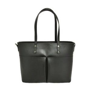 Černá kabelka z pravé kůže JOHN FISH Giusy