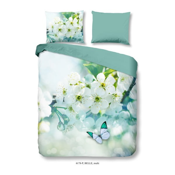 Lenjerie de pat din bumbac satinat Muller Textiels Tenrugo, 200 x 240 cm